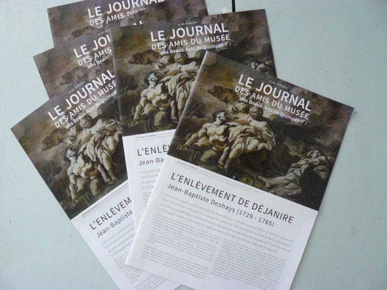 Le journal des Amis du musée des beaux-arts